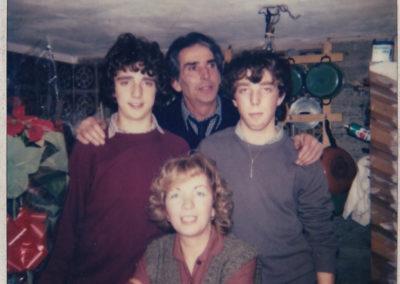 Famiglia Casadei 1980