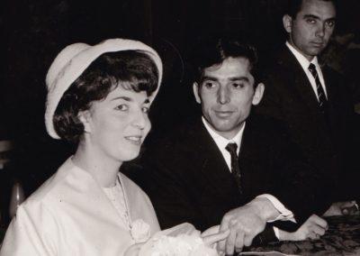 Anna e Gino Cesenatico 1962